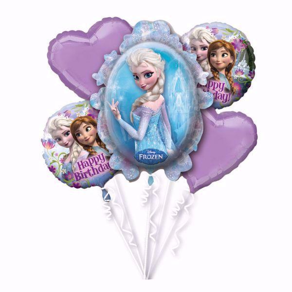 Bild von Bouquet Set  und Elsa Frozen Folienballon Geburtstag