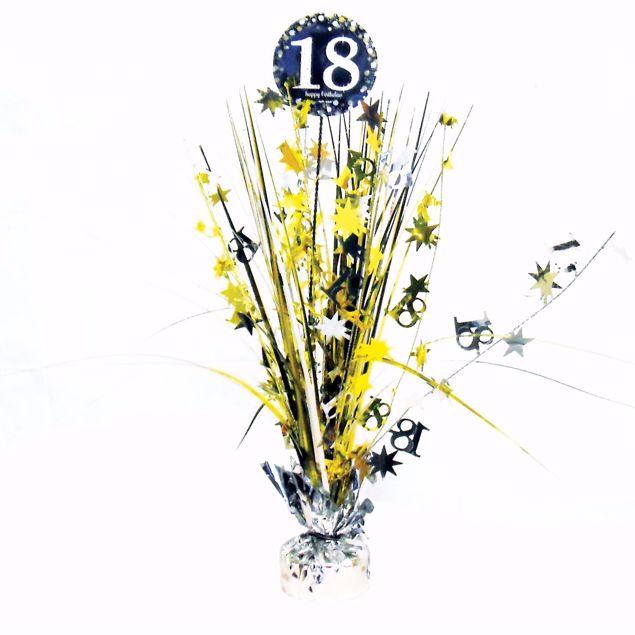 Bild von Tischdekoration 18 Sparkling Celebration - Silver & Gold