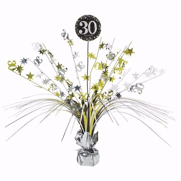 Picture of Tischdekoration 30 Sparkling Celebration - Silver & Gold