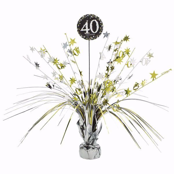 Bild von Tischdekoration 40 Sparkling Celebration - Silver & Gold