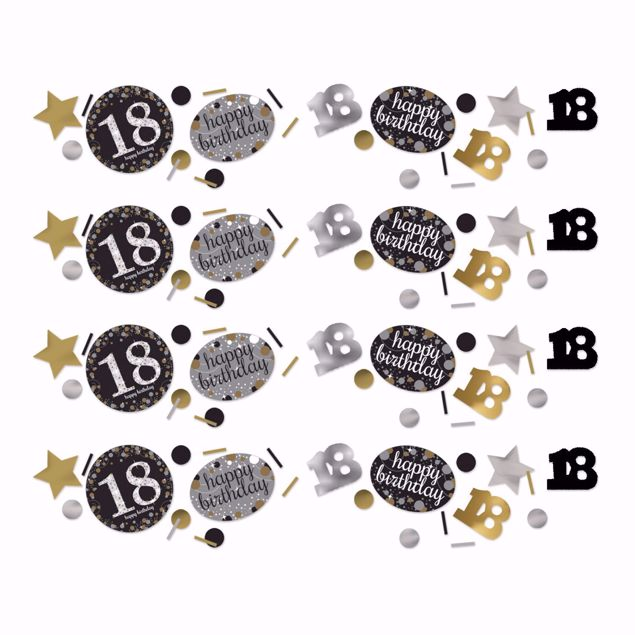 Picture of Konfetti 18 Sparkling Celebration - Silver & Gold 34 g