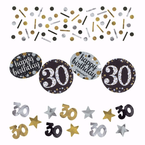 Picture of Konfetti 30 Sparkling Celebration - Silver & Gold 34 g