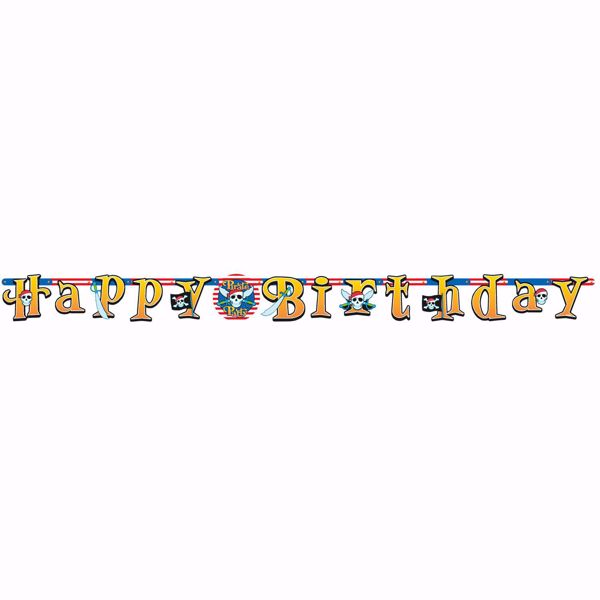 Picture of Partykette Pirate Party 210 x 17,7 cm