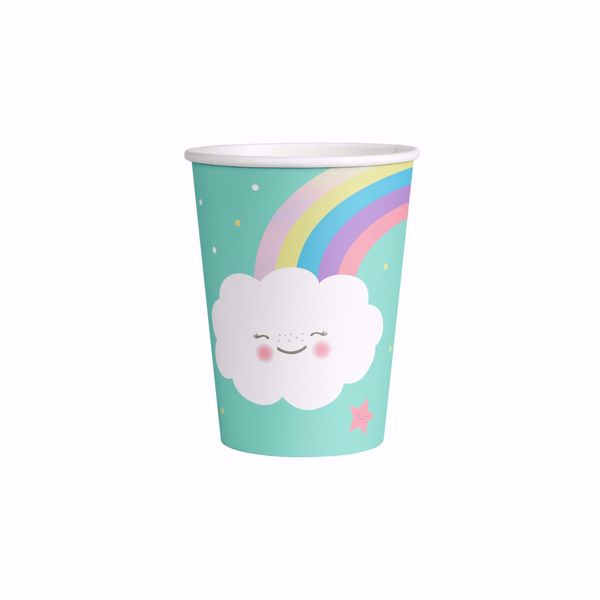 Picture of Becher Rainbow & Cloud Papier 250 ml