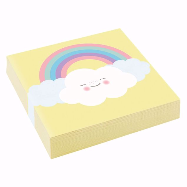 Bild von Servietten Rainbow & Cloud 25 x 25cm