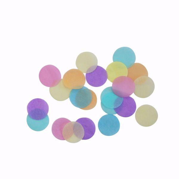 Picture of Deko-Konfetti - Pastel Rainbow 15g