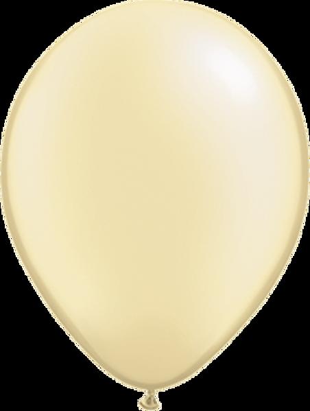 "Picture of Latexballon Rund Qualatex Pearl Elfenbein 27,5 cm/11"""