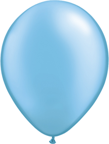 "Picture of Latexballon Rund Qualatex Pearl Hellblau 27,5 cm/11"""