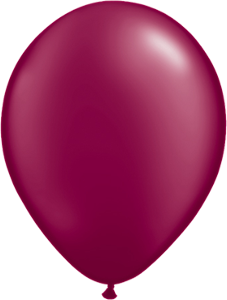 Picture of Latexballon Rund Qualatex Pearl Burgundy 27,5 cm/11""