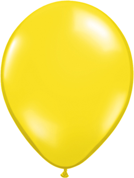 "Picture of Latexballon Rund Qualatex Pearl Gelb 27,5 cm/11"""