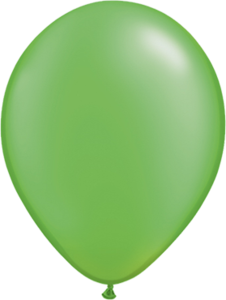 "Picture of Latexballon Rund Qualatex Pearl Apfelgrün 27,5 cm/11"""