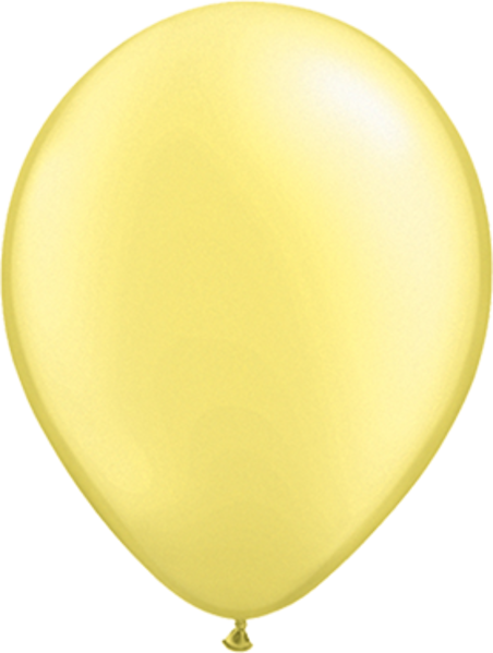 Picture of Latexballon Rund Qualatex Pearl Lemon 27,5 cm/11""