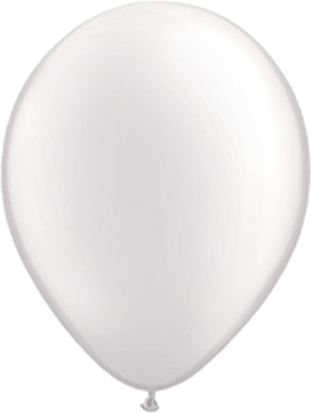 Picture of Latexballon Rund Qualatex Pearl Weiß 27,5 cm/11""