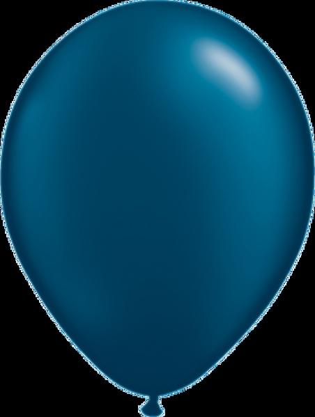 """Bild von Latexballon Rund Qualatex Pearl Midnight Blue 27,5 cm/11"""""""