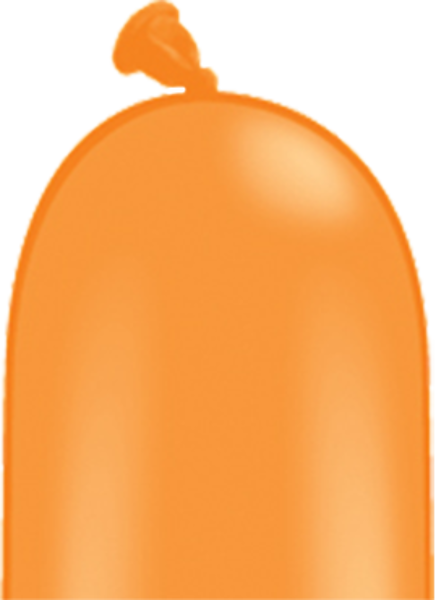 Bild von Latexballon Modellierballon Qualatex 260Q Standard Orange