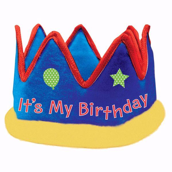 Bild von Krone It's My Birthday Gewebe 13,9 cm