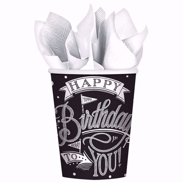 Bild von MULTIPACK 18 Becher Hooray It's Your Birthday Papier 266 ml
