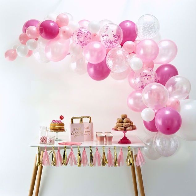 Picture of Pink Ballongirlanden Set