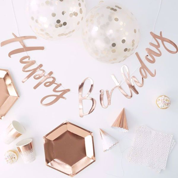 Picture of Party in A Box Rosegold
