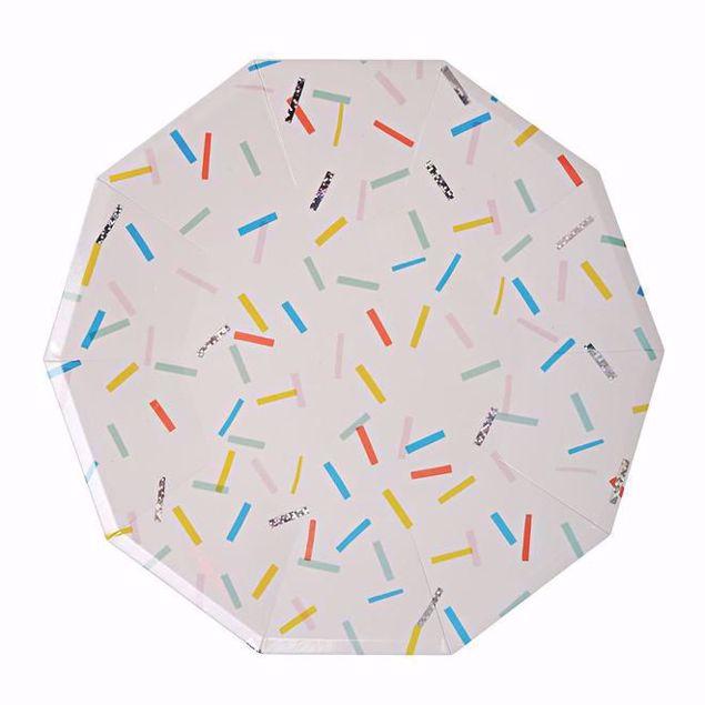 Picture of Streusel Partyteller - Sprinkles Plates large 23cm x 23cm