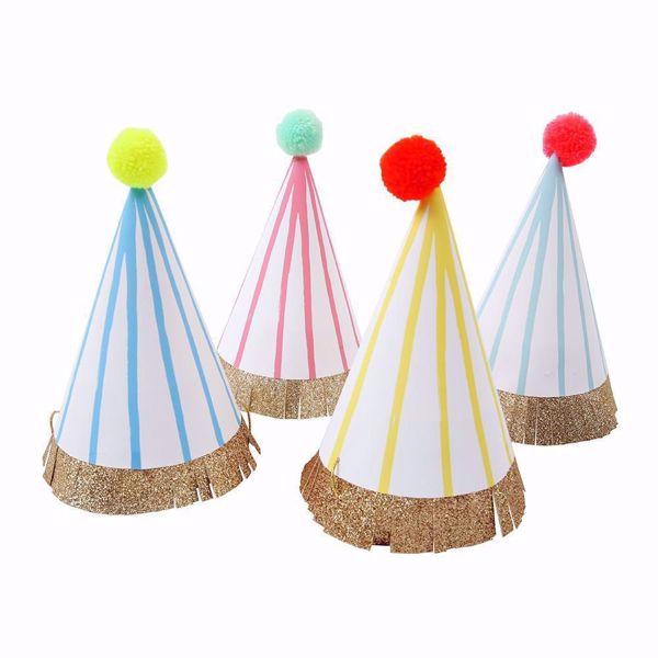 Bild von Pompom Party Hütte 9,5 cm