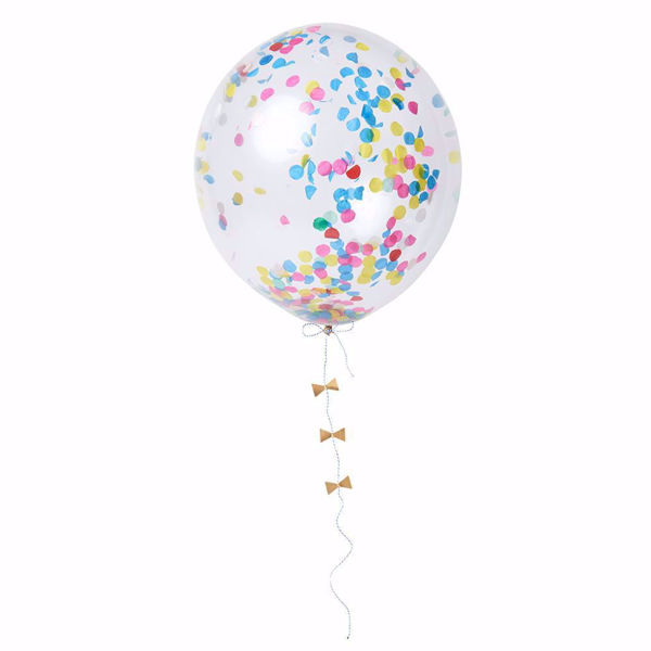 Picture of Latexballon Bunt Konfetti Set Kit 8 Stück DO IT YOURSELF