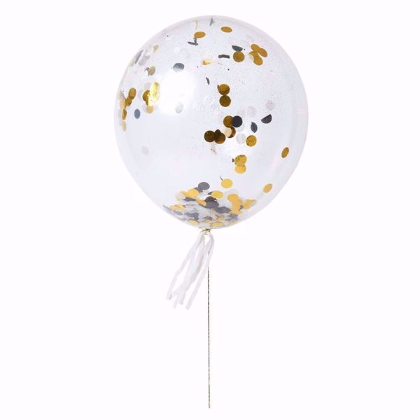 Picture of Latexballon Gold und Silver Kit Set 8 Stück