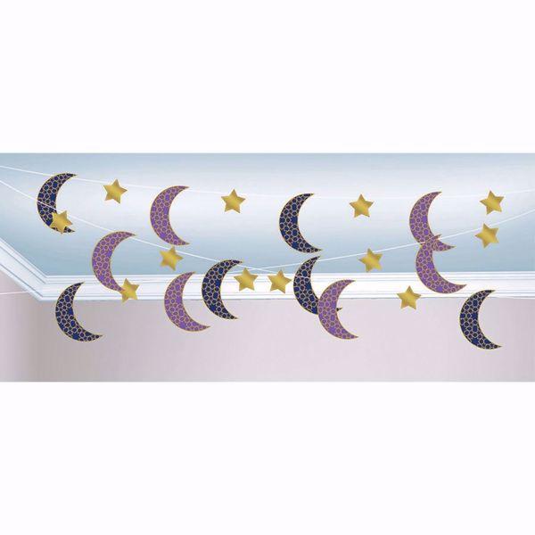 Picture of Girlande Eid Ramadan Mond Sterne