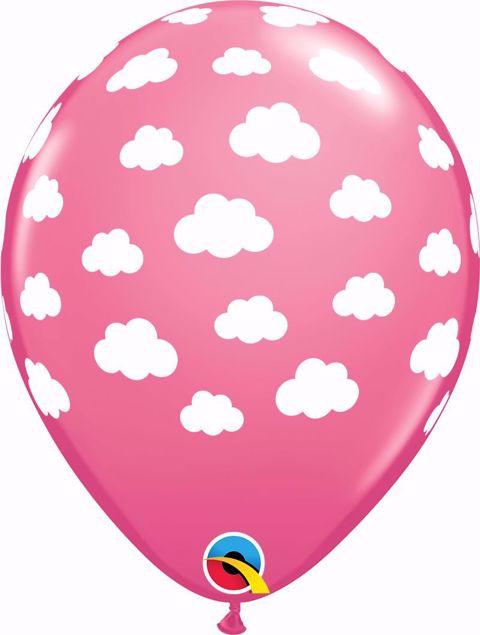 Bild von Latexballon Pink Wolken 11 inch