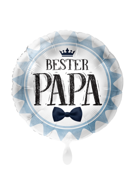 Picture of Bester Papa Vatertag Folienballon 45 cm