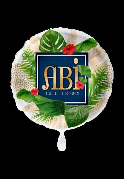 Bild von Abitur ABI Karibik Folienballon 45 cm