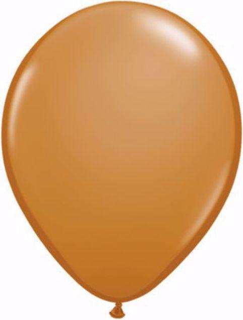 Bild von Latexballon rund Fashion Mocha Braun Qualatex 11 inch