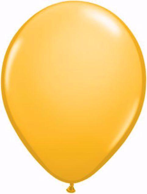 Picture of Latexballon rund Fashion Goldenrod Qualatex 11 inch