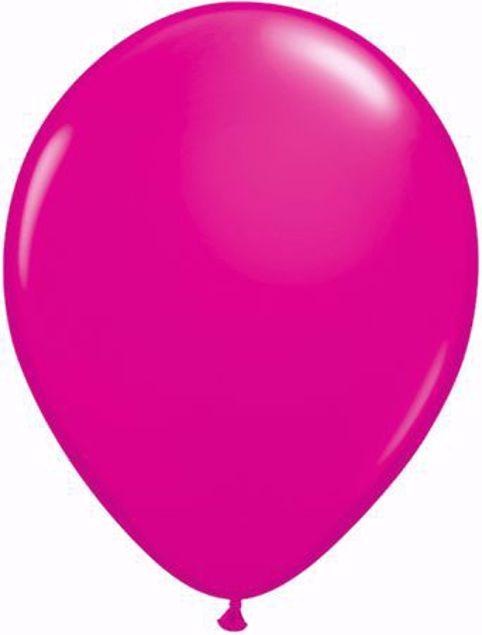 Bild von Latexballon rund Fashion Wild Berry Qualatex 11 inch