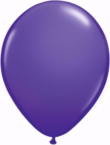 Bild von Latexballon rund Fashion Lila Violet Qualatex 11 inch