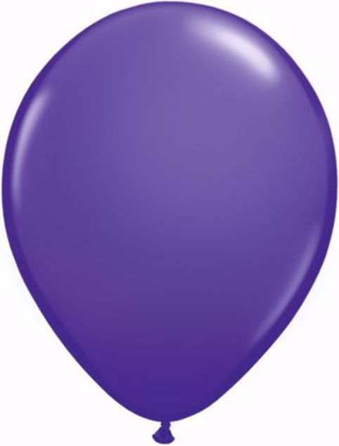 Bild von Latexballon rund Fashion Lila Violet Qualatex 11 inch