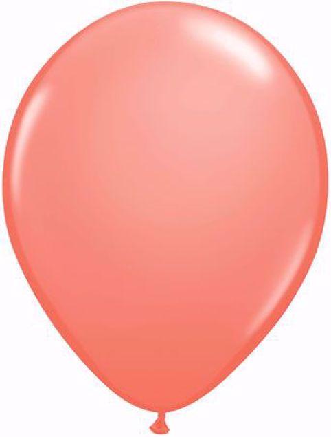 Bild von Latexballon rund Fashion Korall Qualatex 11 inch