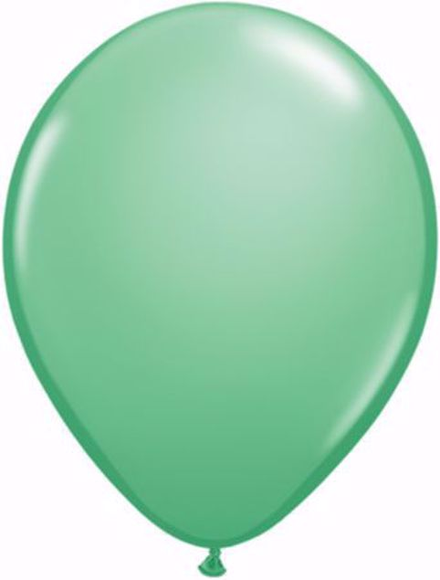 Bild von Latexballon rund Fashion Wintergrün Qualatex 11 inch