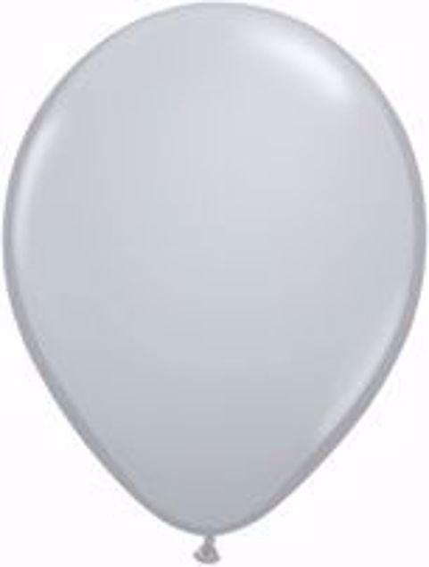Picture of Latexballon rund Fashion Grau Qualatex 11 inch