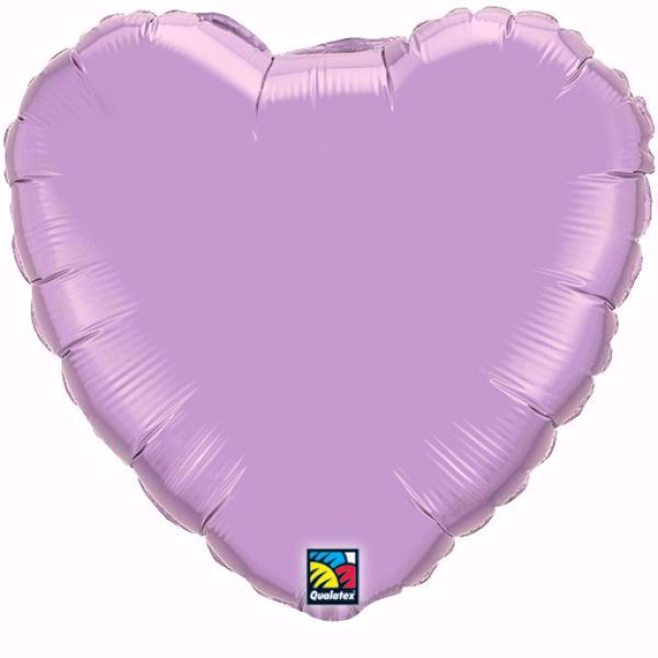 Bild von Folienballon Herz Qualatex 36 inch Pearl Lavendel