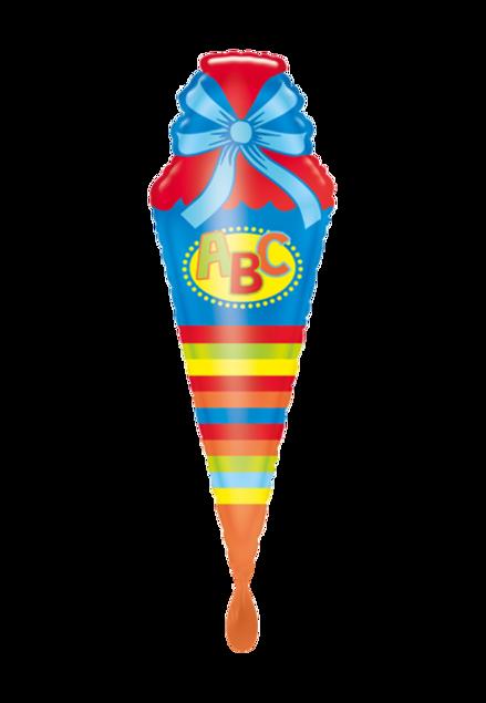 Picture of Folienballon Einschulung Schultüte ABC