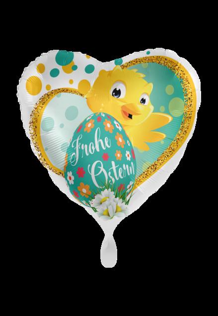 Picture of Folienballon Frohe Ostern Küken XXL 71cm