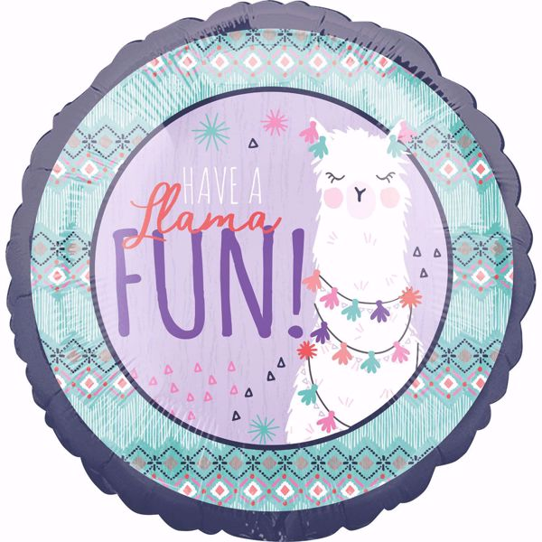 Bild von Folienballon Lama Fun Folienballon
