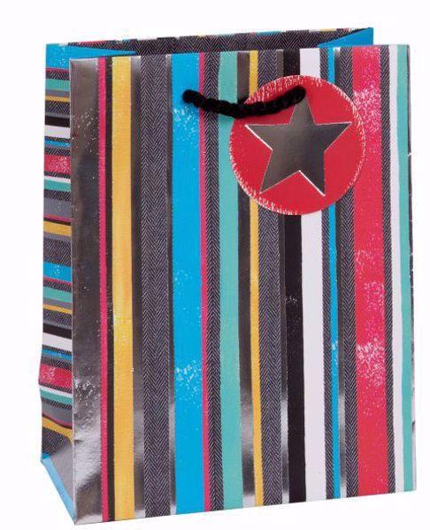 Picture of Streifen/Sterne Bag medium