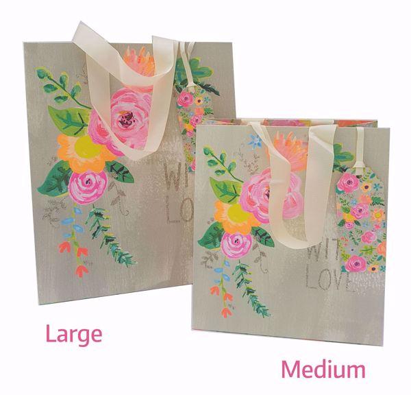 Picture of With Love Glitzer Bag medium