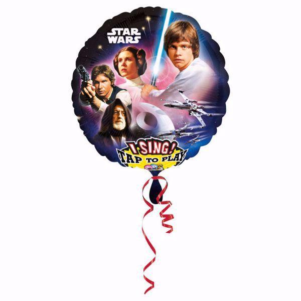Picture of Folienballon Sing-A-Tune Star Wars