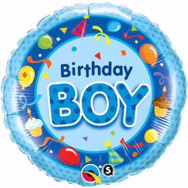 Picture of Folienballon Birthday Boy