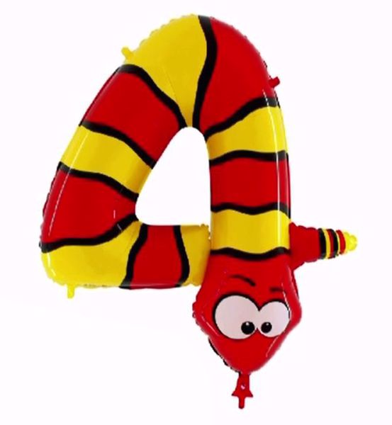 "Picture of Folienballon Animaloons ""4"" Schlange"