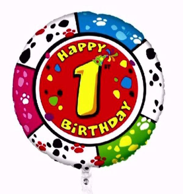 """Bild von Folienballon Animaloons """"1"""""""