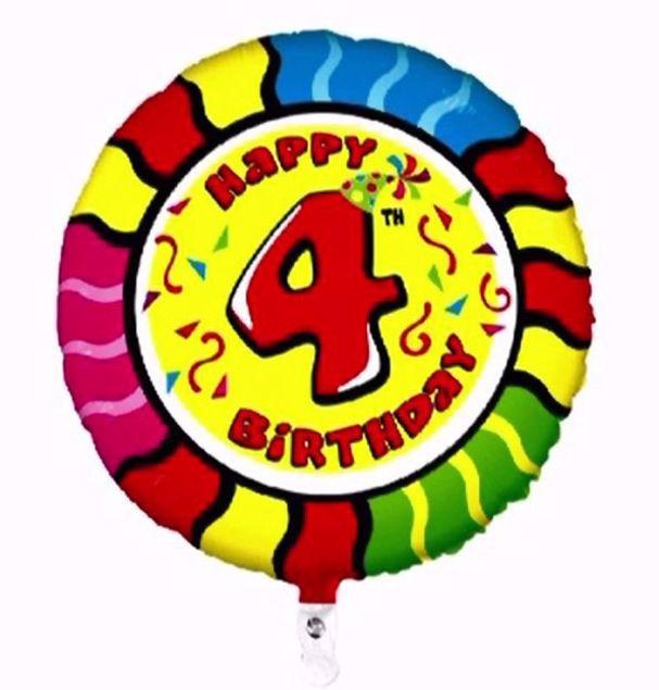 """Bild von Folienballon Animaloons """"4"""""""